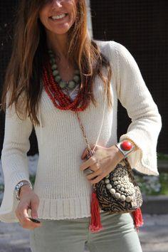 I love ethnic accessories!!!!   mytenida en stylelovely.com