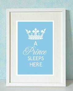 Little Prince Nursery Print