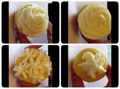Tutorial   Four Quick and Easy Buttercream Piping / Icing Techniques for...