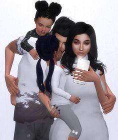 Family' Selfies Pose Pack by gampanda Sims 4 Couple Poses, Couple Posing, Sims 4 Game Mods, Sims Mods, Sims 4 Photography, Sims 4 Family, Toddler Poses, Sims 4 Traits, Sims 4 Black Hair