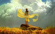 File Name: Girl clouds art  Uploaded by: BFMiss  Date: 21.08.2015  Category: Abstract  Image Size: 1920x1200 px  File Size: 1419.01 Kb