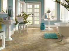 badezimmer mit pvc fliesenboden