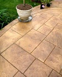 Concrete Patio Ideas Backyard backyard patio ideas patio paver good laying pavers on concrete patio with modified basket weave Find This Pin And More On Landscape Design Backyard Patio Design Tips For Your Dream Patio Concrete Patio Ideas