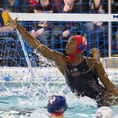 Sports: Meet The Goalie Changing The Face Of USA Water Polo: Ashleigh Johnson (2016 Olympic Team)