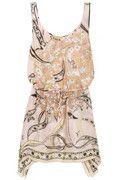 Emilio Pucci | Printed silk beach dress | NET-A-PORTER.COM