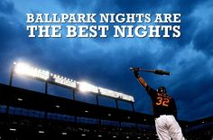 Ball park nights are the best nights Red Sox Baseball, Baseball Season, Baseball Mom, Baseball Stuff, Softball, Baseball Crafts, Baseball Quotes, Reds Game, Fantasy Team