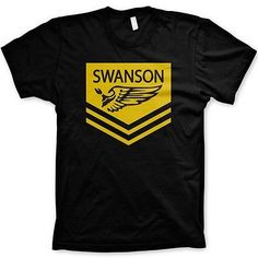 Parks and Recreation Swanson tshirt parks and rec tees
