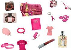 Mood board Pink Ribbon