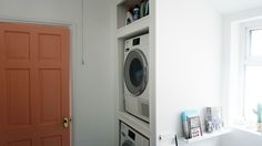 Our bathroom makeover! | Home interiors | Bathroom Inspiration | Pink Door | Washing unit | utilities room |