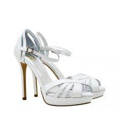 Lou bridal-evening sandals Margaret-00-144-15w-Νυφικά