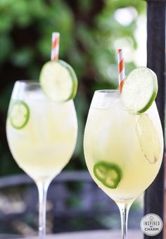 Sweet Heat - vodka and pineapple juice get a spicy twist with jalapenos and ginger in this delicious cocktail.
