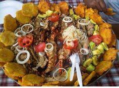 Haitian delicious food