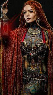 creattattoo Tattoo Girls, Girl Tattoos, Tattoos For Women, Fantasy Girl, Trance Musik, Diy Art, Dreads Girl, Portraits, Beautiful Tattoos