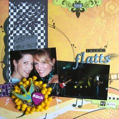 Rascal Flatts layout by Emily Branch - Scrapbook.com