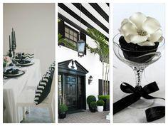 Painel de inspiração + Preto e branco | Andrea Velame Blog