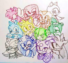 #Соник #Sonic #SonicTheHedgehog #Sonic_The_Hedgehog #СоникЁжик #Соник_Ёжик #STH#SuchoTokki03 #Sonic_Characters #Sonic_Pictures #fanart #sega #art