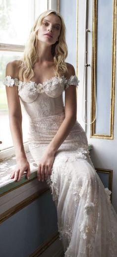 Wedding Dress: Lian Rokman;www.lianrokman.com; Wedding dress idea.