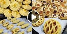 حلويات العيد بدون طابع 5 اشكال اقتصادية وسهلة التحضير  - حلويات العيد 2020 Waffles, Breakfast, Food, Morning Coffee, Essen, Waffle, Meals, Yemek, Eten