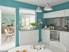 Cocinas de color turquesa