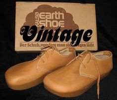 Earth Shoes  1970s - How I loved these UGLY shoes!!!