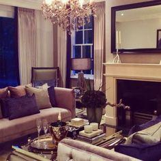 Classic Contemporary drawing room I Designed for a prestigious ...