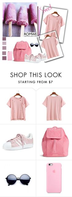 """""""Pink style.."""" by amrafashion ❤ liked on Polyvore featuring adidas and Vera Bradley"""