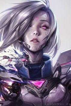 Arte Cyberpunk, Cyberpunk Aesthetic, Cyberpunk Girl, Lol League Of Legends, League Of Legends Characters, Character Inspiration, Character Art, Character Design, Fantasy Characters