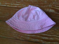 0-12 months pink sun hat