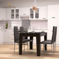 Τραπέζι 125x73x75 κατάλληλο για την Τραπεζαρία και την Κουζίνα. Από την Alphab2b.gr Dining Room, Table, Furniture, Home Decor, Decoration Home, Room Decor, Tables, Home Furnishings, Home Interior Design