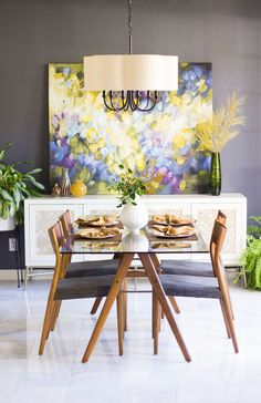 Design Improvised: Our Dining Room Reveal with VarageSale!