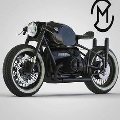 @caferacergram by CAFE RACER #caferacergram # R90 engined R50 concept…
