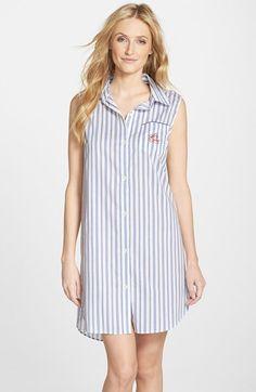189d3b6752 Women s Lauren Ralph Lauren Sleeveless Sleep Shirt Sleep Shirt