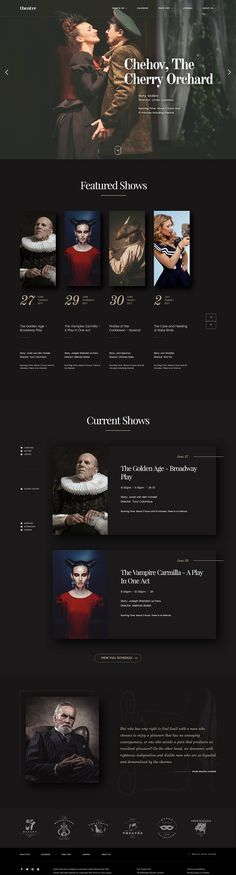 Theatre WP | Art & Culture WordPress Theme #cinema #circus #comedy • Download ➝ https://themeforest.net/item/theatre-wp-art-culture-wordpress-theme/20195110?ref=pxcr
