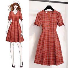 Fashion Drawing Dresses, Fashion Illustration Dresses, Fashion Dresses, Kawaii Fashion, Cute Fashion, Korean Girl Fashion, Dress Sketches, Fashion Design Sketches, Kpop Fashion Outfits