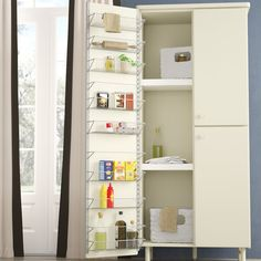 Davidson Kitchen Over Cabinet Door Organizer Cabinet Door Storage, Kitchen Cabinet Pulls, Kitchen Cabinet Organization, Cabinet Doors, Kitchen Storage, Cabinet Organizers, Kitchen Shelf Organizer, Food Storage, Cabinet Ideas