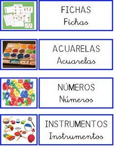 La granja de Daniela: ORDENAR EL AULA Catalan Language, Dora, Printable Labels, Classroom Decor, Classroom Management, Montessori, Preschool, Teaching, Education