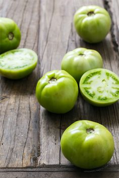 Pickled Green Tomatoes | Love and Olive Oil