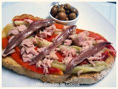 Tostadas, Tapas Menu, Tapas Bar, Spanish Tapas, Keto Dessert Easy, C'est Bon, International Recipes, Love Food, Food To Make