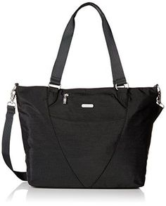 Baggallini Avenue Travel Tote, Black, One Size     To view further for e8654a2908