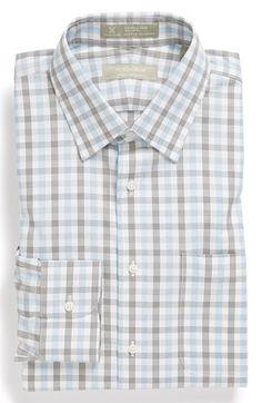 $42.90 Nordstrom Smartcare™ Wrinkle Free Traditional Fit Plaid Dress Shirt | Nordstrom