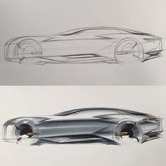 Side View Sketch & Marker www.skeren.co.kr amazon-->search-->skeren #아이디어스케치 #ideasketch #자동차스케치 #cardesign #carsketch #자동차디자인 #marker