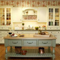 Farm Kitchen color scheme
