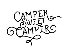 Adorable Camper Sweet Camper FREE printable art! Diy Camper, Camper Life, Rv Life, Camper Ideas, Decorating Your Rv, Decorating Ideas, Camper Trailers, Campers, Travel Trailers