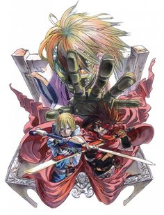 Guilty Gear Isuka Screen on http://www.majestichorn.com/2012/03/guilty-gear-isuka-screen/