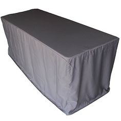 FantasyDeco 6 ft. Fitted Rectangular Polyester Tablecloth...