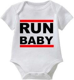 RUN BABY_Funny Baby Humor Shirt Collection by FRISCOINK on Etsy