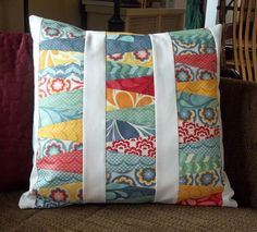 Kelsey Sews: Tutorial: Wedge Pillow - Charmed Madness