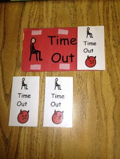 3 strike time-out visual...this has been extremely useful in my classroom!