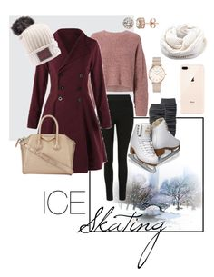 """""""""""A Date on The Ice"""""""" by arielalcantar on Polyvore featuring rag & bone, Givenchy, ROSEFIELD and Diamond Splendor"""