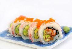 Receta de Cocina Japonesa - Roll de Langostinos Crocantes